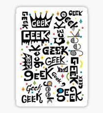 Geek Words Sticker