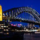 Bridge by night by Adam Le Good