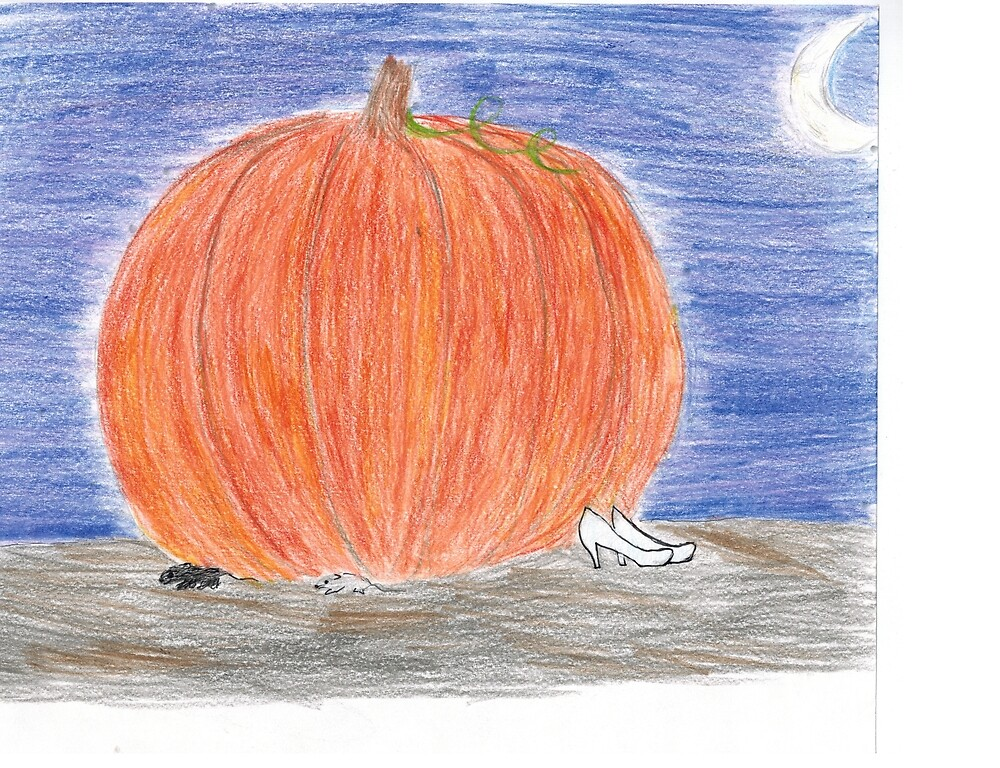 cinderella's pumpkin  by tumbleberries