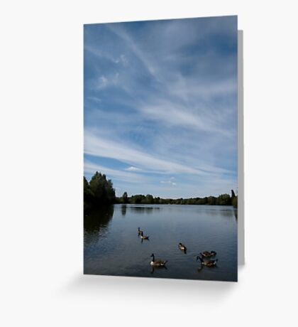 Thatcham Lakes Greeting Card