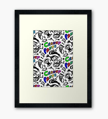 Cranky Pants Framed Print