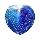 Blue Heart Full by Wendy  Slee