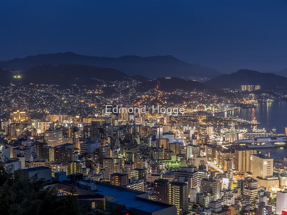Nagasaki Japan by Edmond  Hogge