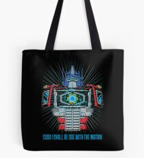 One with the Matrix Tote Bag