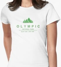 Olympic National Park, Washington Women's Fitted T-Shirt