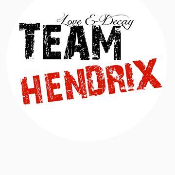 Team Hendrix Sticker by realitysabotage