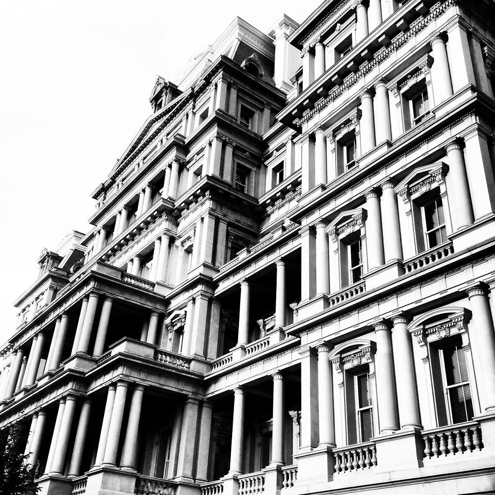 Eisenhower Building  by Maria  Nicole