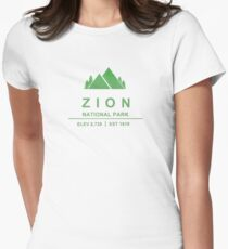 Zion National Park, Utah Women's Fitted T-Shirt