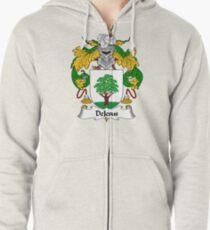 DeJesus Coat of Arms/Family Crest Zipped Hoodie