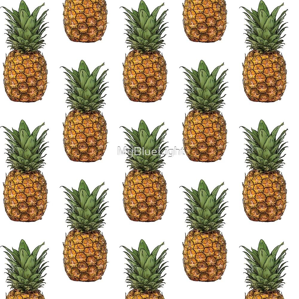 Pineapple pattern by MyBlueLight