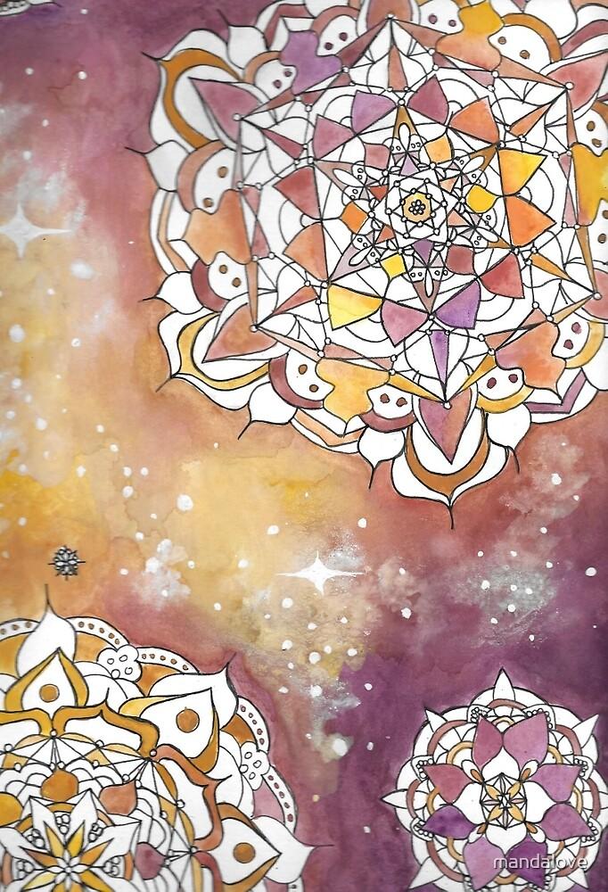 Mandalove Universe Mandala by mandalove