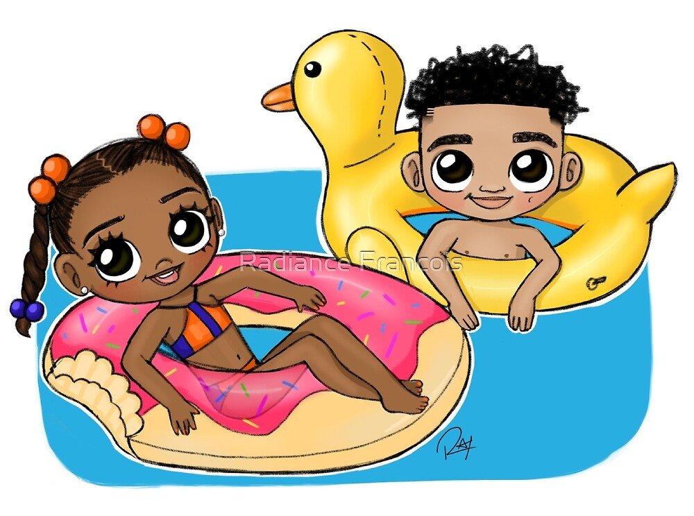 Pool Fun by Radiance Francois