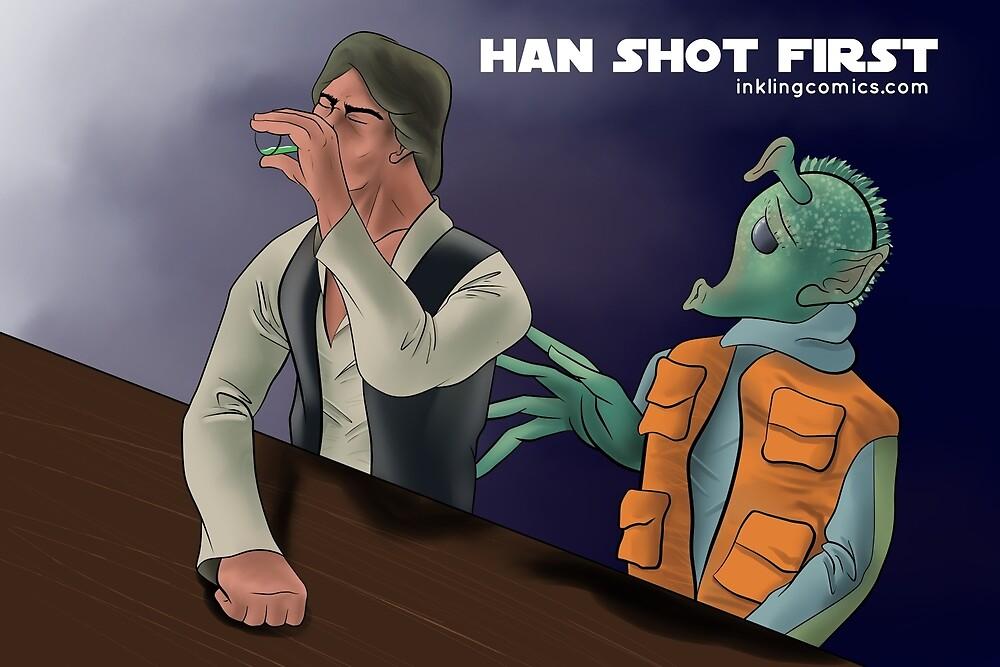 Han Shot First! by inklingcomics