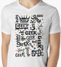 Geek Words Men's V-Neck T-Shirt