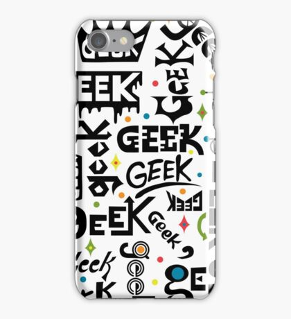 Geek Words iPhone Case/Skin