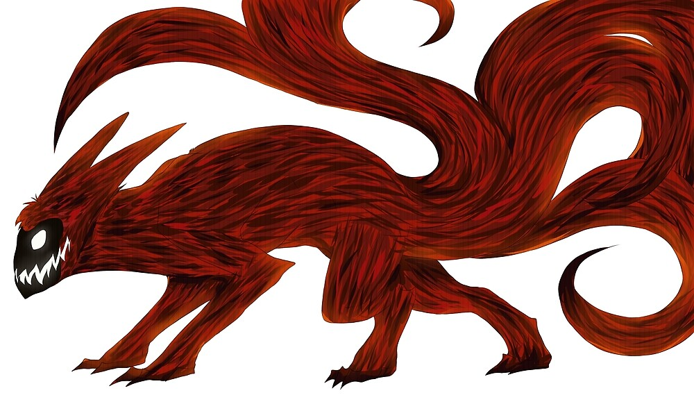 Nine Tailed Beast by bigmacbearhug