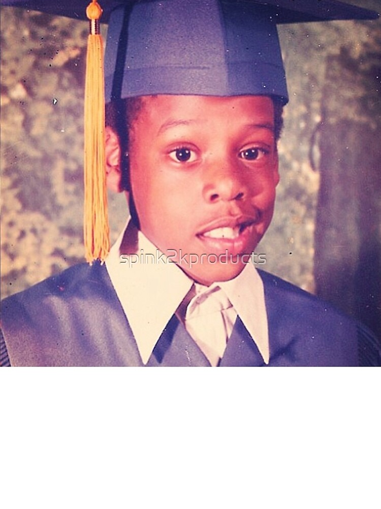 Jay-Z or Young Shawn Carter Graduation Pic by spink2kproducts