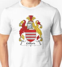 Gifford Coat of Arms / Gifford Family Crest T-Shirt