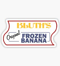 Bluth's Original Frozen Banana Stand Sticker