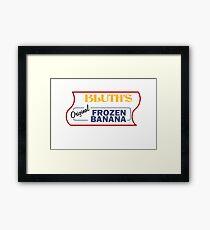 Bluth's Original Frozen Banana Stand Framed Print