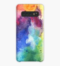 Abstract Watercolor Composition Case/Skin for Samsung Galaxy