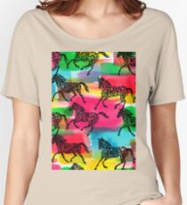 Horse Stampede Women's Relaxed Fit T-Shirt