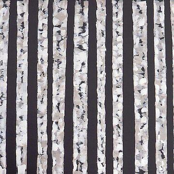 Stripes of Birch by hipasdesign