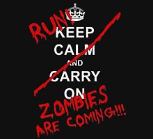 run zombies are coming! Unisex T-Shirt