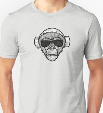 Monkey Headphones T-Shirt