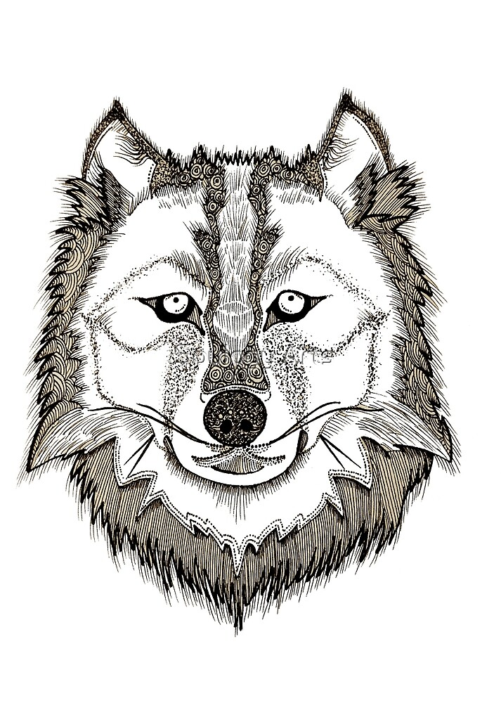 Noble Wolf by simonmeola