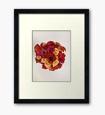Calla Lily Bridal Bouquet Framed Print