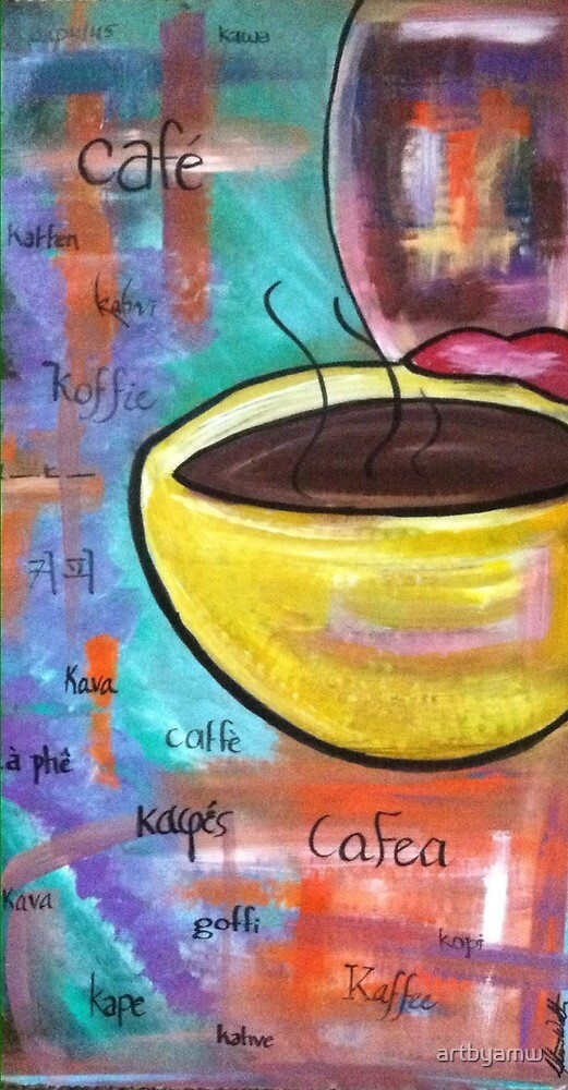For the Love of Coffee by artbyamw