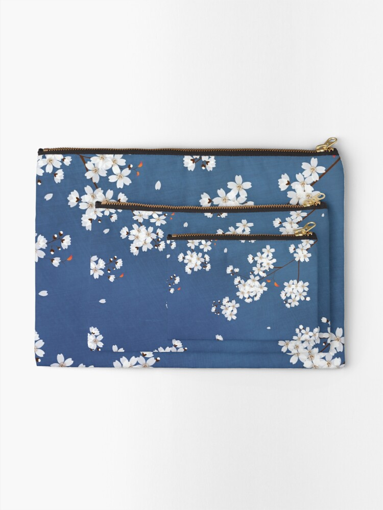 Alternate view of Sakura | Cherry Blossom Zipper Pouch