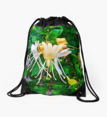 Honeysuckles Drawstring Bag