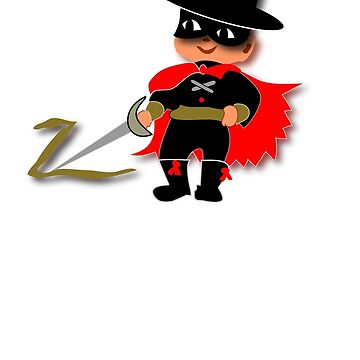Retro Kid Billy features the legendary Zorro  by patjila