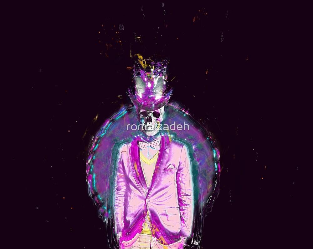 Glow skull by romaizadeh