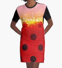 miraculous ladybug designs 2/3 Graphic T-Shirt Dress