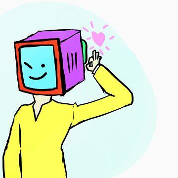 TV MAN LOVES YOU by sayakanker