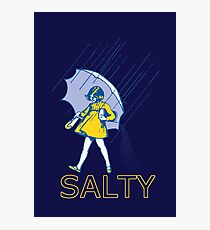 Don't Be Salty Photographic Print