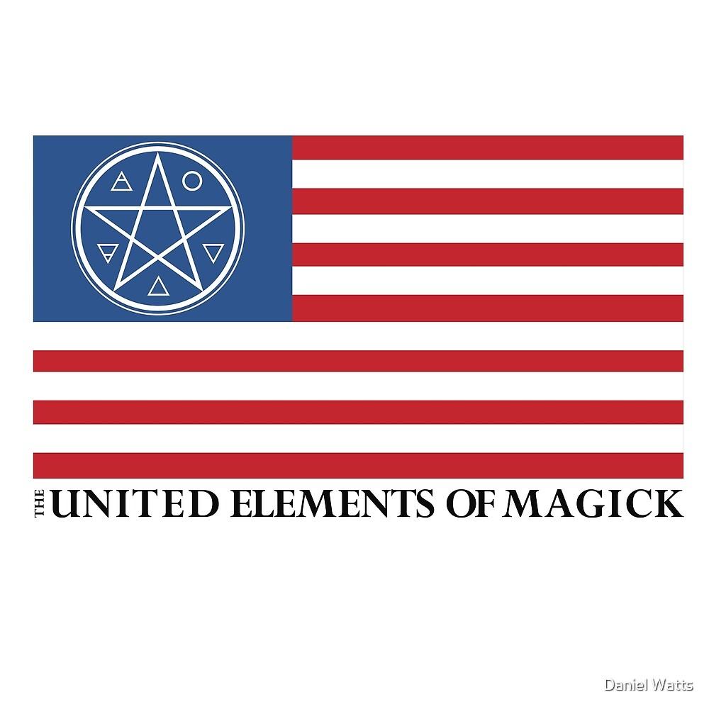The United Elements of Magick | Americana by Daniel Watts
