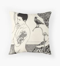 Something Is Different Throw Pillow