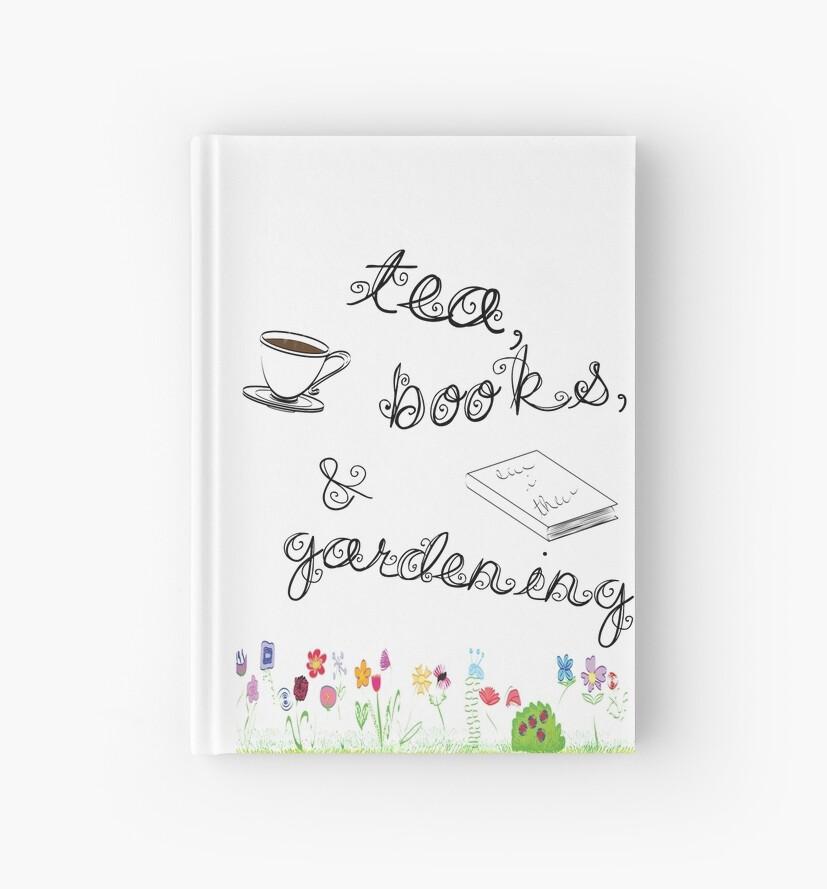 Tea, Books, and Gardening by Kaori Keyser