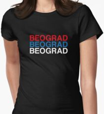 BEOGRAD Womens Fitted T-Shirt