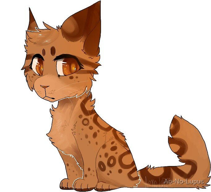 Warrior Cats Leopardstar  by Ao-No-Lupus