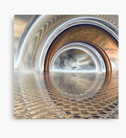 Reflected Boolean Canvas Print