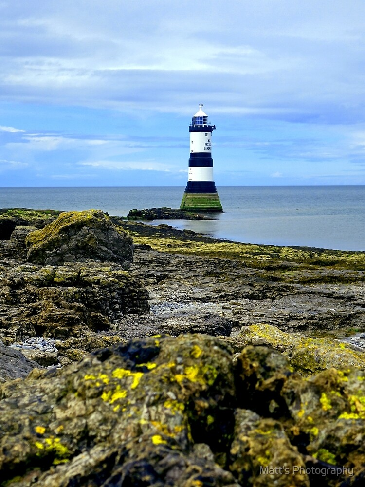The Lighthouse on the Rocks by Matt's Photography