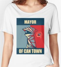 Mayor of Can Town Women's Relaxed Fit T-Shirt