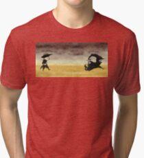 ...And the gunslinger followed Tri-blend T-Shirt