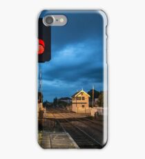 Worksop-signal box and light iPhone Case/Skin