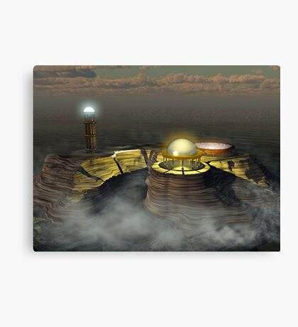 THE MAGUS REQUIRES AN APPRENTICE Canvas Print